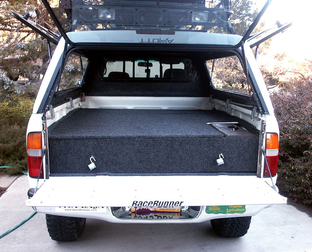 Toyota Tacoma Camper Shell Conversion